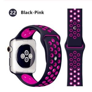 Accessories - ❤️NEW Black Pink Sport Band For Apple Watch